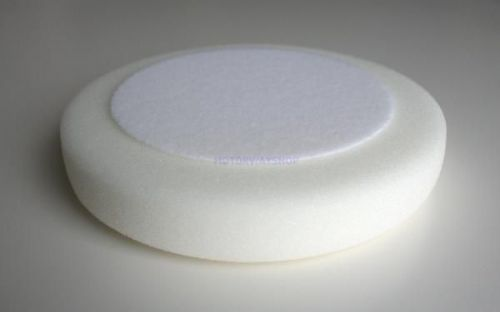 "1 x Deltalyo 6"" Inch White Foam DA Pad For Compounding & Cutting"